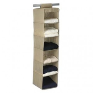 hanging sweater organizer