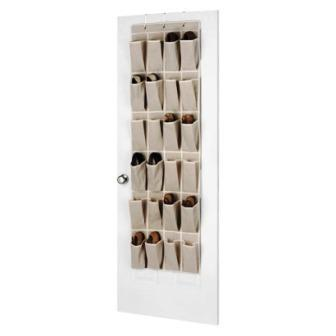 Over The Door Shoe Organizer Organize Closet