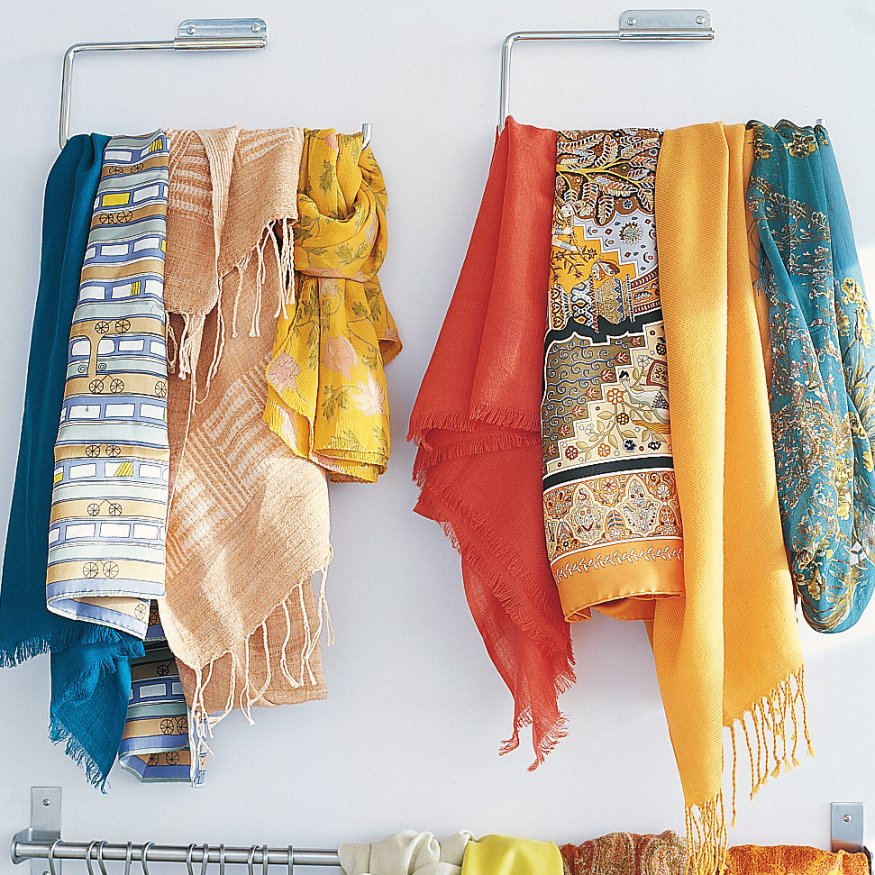 How do you organize your scarves how to organize your for How do you organize your closet